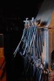 Blacksmith tongs Royalty Free Stock Images