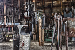 Blacksmith Tools Royalty Free Stock Photo