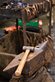 Blacksmith tools Royalty Free Stock Image