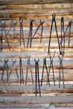 Blacksmith tools. Stock Photos
