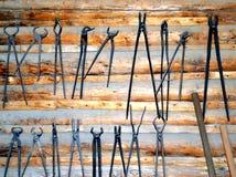 Blacksmith tools. Stock Photography