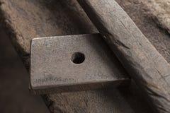 Blacksmith tools stock photography
