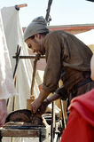 Blacksmith woker Stock Photo