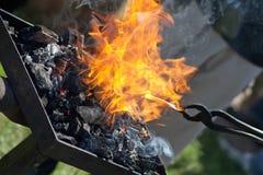 Blacksmith work Stock Photo