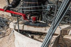 Blacksmith in work Stock Photo