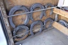 Blacksmith at work Royalty Free Stock Photo