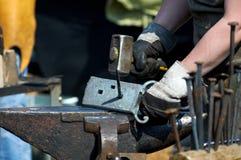 Blacksmith at work. Royalty Free Stock Photo