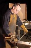 Blacksmith working Stock Photography
