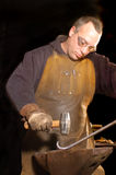 Blacksmith working Royalty Free Stock Image