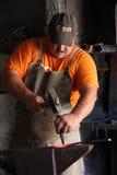 Blacksmith working 2 Stock Photography