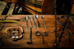 Blacksmith krakow royalty free stock photos