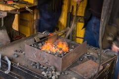 Blacksmithing Royalty Free Stock Photos
