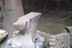 Blacksmiths anvil Royalty Free Stock Photography