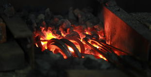 blacksmiths forge Royalty Free Stock Images