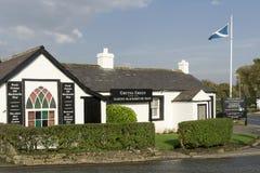 The Blacksmiths shop at Gretna Green stock photography