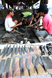 Blacksmiths. Were making farm equipment in Sukoharjo, Central Java, Indonesia Stock Photo