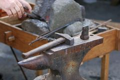 Blacksmiths workshop Stock Images