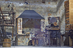 Blacksmiths workshop Royalty Free Stock Photo
