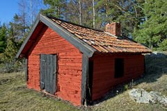 Blacksmiths workshop. The old blacksmiths workshop in Uppland, Sweden royalty free stock images