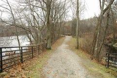 Blackstone rzeki ścieżka Zdjęcie Royalty Free