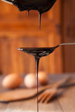Blackstrap molasses Stock Photo
