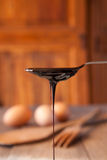 Blackstrap molasses Stock Photography