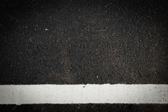 Blacktop del carril Imagen de archivo