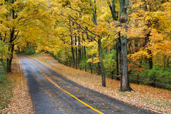 Blacktop Road Royalty Free Stock Image