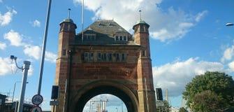 Blackwall tunnel London Arkivfoton