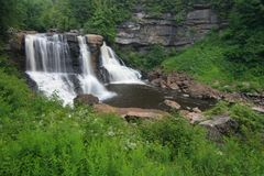 Blackwater Falls. In West Virginia Stock Photography