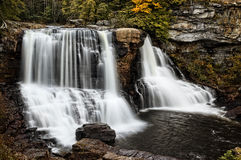Blackwater Falls In Autumn Royalty Free Stock Photos