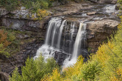 Blackwater Falls Autumn Stock Photography