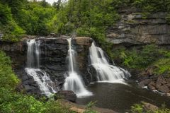 Blackwater Falls State Park in West Virginia Royalty Free Stock Photography