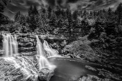 Blackwater Falls in West Virginia Stock Photos