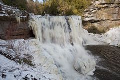 Blackwater Falls, WV Royalty Free Stock Images