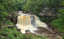 Blackwater River Falls West Virginia Royalty Free Stock Image