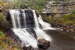 Blackwater waterfall cascade Royalty Free Stock Photography