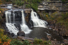 Blackwater waterfall cascade Royalty Free Stock Photos