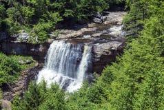 Blackwaterdalingen bij Blackwater-het Park van de Dalingenstaat in West-Virginia stock afbeeldingen