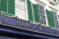 Blackwell Bookshop. Oxford. England Royalty Free Stock Images