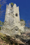 Blacnicky castle, Slovakia Royalty Free Stock Photo
