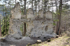 Blacnicky castle, Slovakia Stock Photo