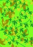 Blad groene achtergrond Stock Afbeeldingen