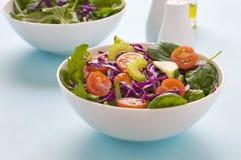 Blad Groene Gemengde Salade Stock Afbeelding