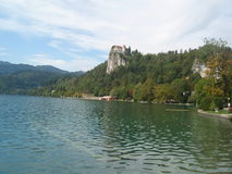 Bled lake 6 stock photo