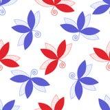 Blad pattern2 Stock Afbeeldingen