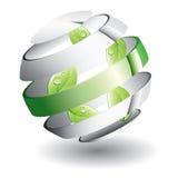 blad spheren Arkivfoton