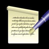 Blad van document vector illustratie