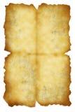 Blad van het oude document Royalty-vrije Stock Afbeeldingen