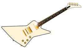 Blada nowożytna stylowa gitara elektryczna Fotografia Stock
